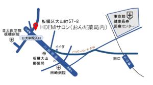 HIDEMIサロン地図